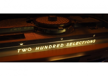 "Metal plate ""TWO HUNDRED SELECTIONS"""