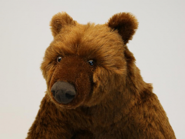 Brown Bear, sitting, limited edition