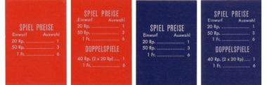 Preisschild, Schweiz