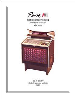 Service Manual Rowe/AMI CMM-4 / CD II