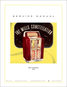 Service Manual Mills and Evans Constellation