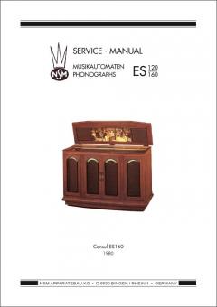 Service Manual Consul ES160