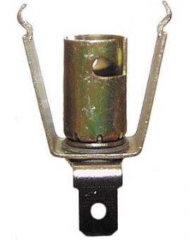 Lamp holder Ba9s to clamp