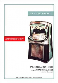 Service Manual Ditchburn Music Maker Mark IX