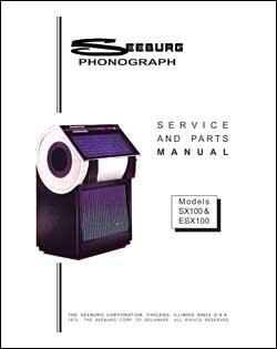 Service Manual Seeburg SX100