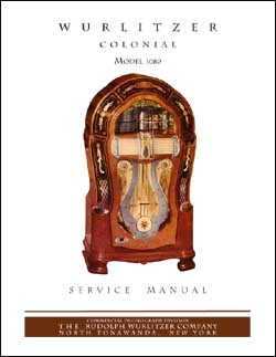 Service Manual Wurlitzer 1080