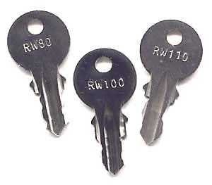 Wurlitzer cabinet keys