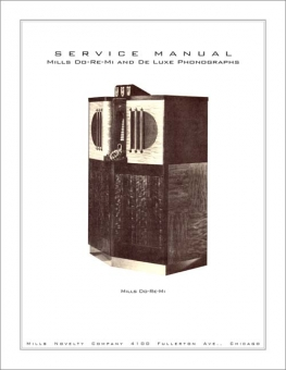 Service Manual Mills Do Re Mi