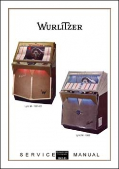 Service Manual Wurlitzer Lyric 1961-63