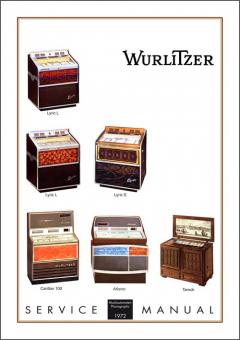 Service Manual Modelle 1972