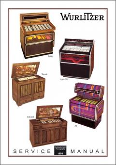 Service Manual Modelle 1976