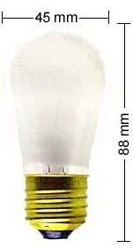 E27 Lampe 11W/110V, matt