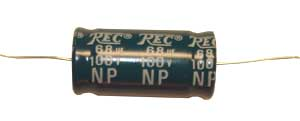 68 µF network capacitor