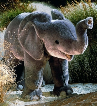 "Elephant Baby ""Tembo"", standing"