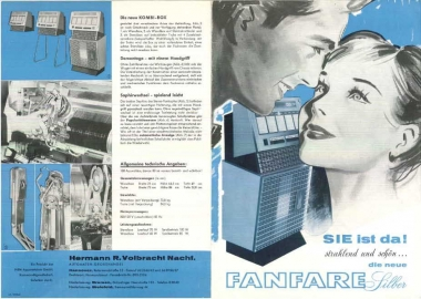 Brochure NSM Fanfare Silber