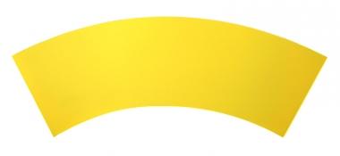 Folienblende, gelb