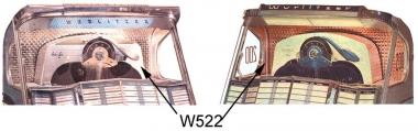 Frontscheibe Wurlitzer 2000