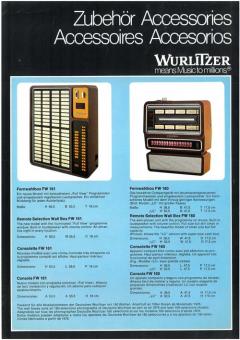 Wurlitzer Accessories