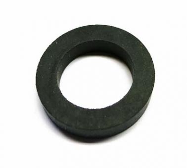 Rubber ring for idler wheel
