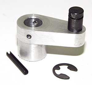 Crank and pin assembly