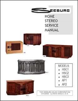 Service Manual Seeburg HSC1 - 3, AP1 - 2