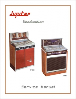 Service Manual Jupiter F100 und 120M