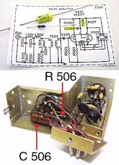 Repair kit for impulse amp