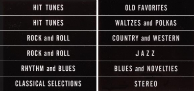 Classification set, black, English