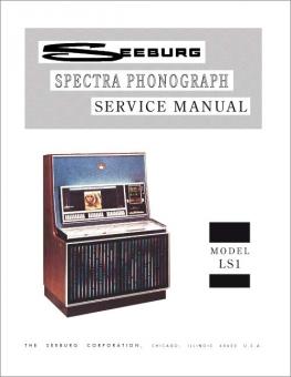 Service Manual Seeburg LS1