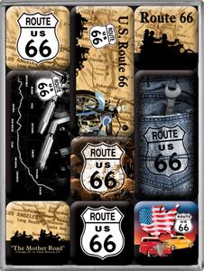 """Magnet-Set """"Route 66"""""""