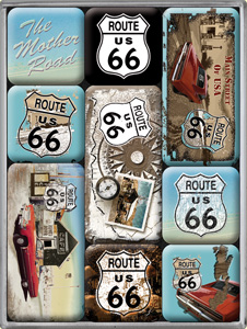 "Magnet-Set ""Route 66 II"""