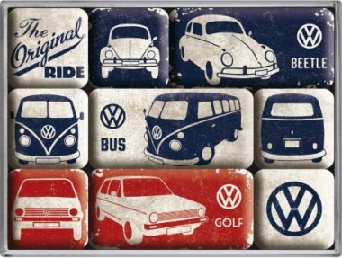 "Magnet-Set ""VW - The Original Ride"""
