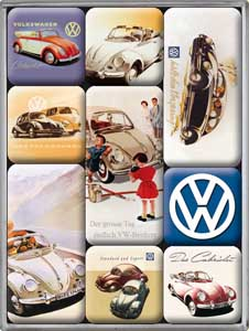 "Magnet-Set ""VW"""