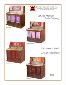 Service Manual Rowe/AMI MM-6