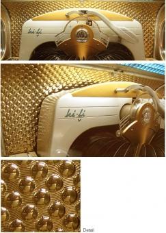 "Background foil ""knob pattern"""