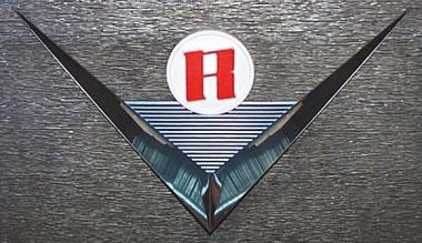 """Emblem """"V"""" für Grillgitter, Edelstahl"""
