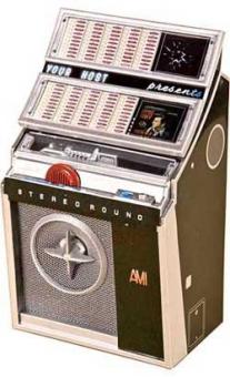 Miniature jukebox AMI L-200