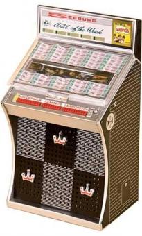 Miniature jukebox Seeburg AY