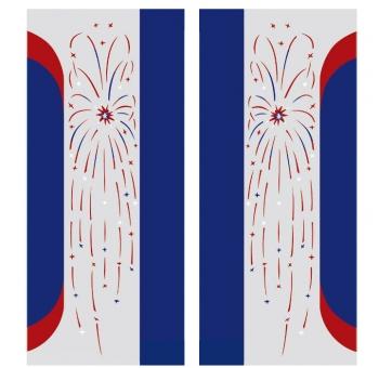 Pilaster color foils W1800