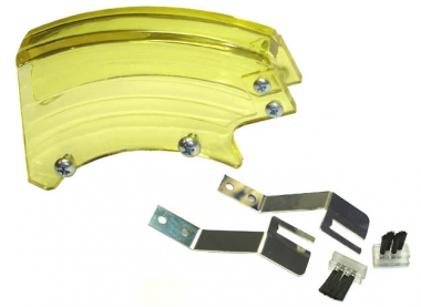 Plattenschutzhaube, Set - gelb