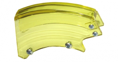 Plattenschutzhaube, gelb
