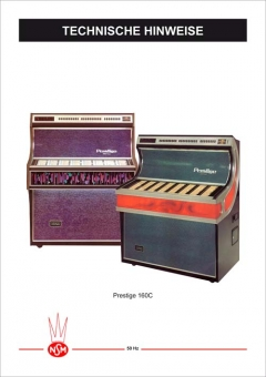 Technische Hinweise Prestige 160C