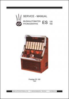Service Manual Prestige ES 160 / ESII 160