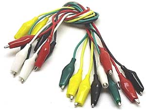 Jumper wire test leads