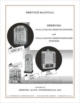 Service Manual R.C.E.S. 1940