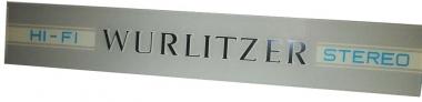 "Narrow front glass ""Wurlitzer"""