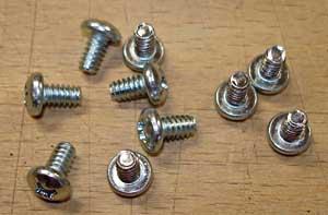 Screws for lightshield