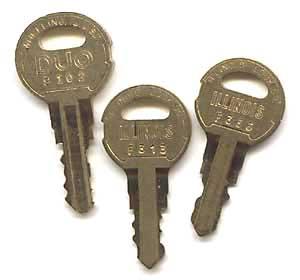 Seeburg cabinet keys