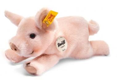 Sissi Piggy, lying