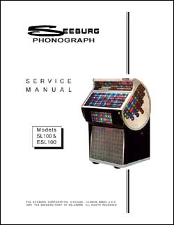 Service Manual Seeburg SL100